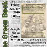 The Green Book Flier for Yale Concert Reading