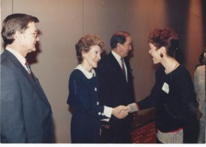 Honoring First Lady Nancy Reagan - photo credit Reis Birdwhistell